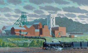 Mainsforth Colliery, County Durham, c.1950