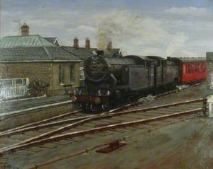 Middleton-in-Teesdale Station, County Durham