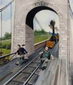 Middlesbrough Suspension Bridge