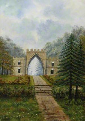 Gatehouse at Greencroft Towers, County Durham