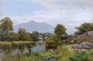 Landscape with Fisherman