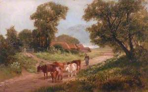 Landscape with Cows and Cowman