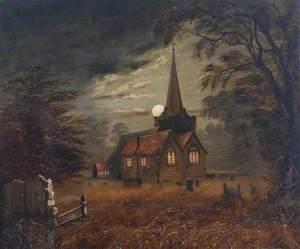 Church at Moonlight