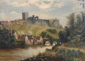 Landscape with Bridge and Castle
