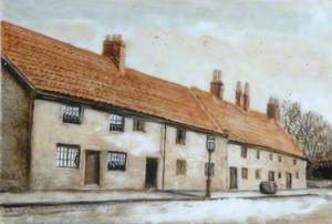 Northgate Cottages and Bulmer Stone, Darlington, County Durham