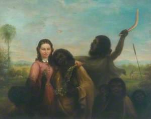 Woman with Aborigines