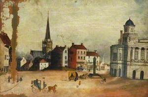 Darlington Market Place, County Durham