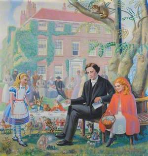 Lewis Carroll at St Peter's Rectory, Croft, Yorkshire