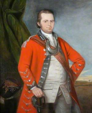 Lieutenant Crosier Surtees (1739–1803), Durham Militia (1759–1761)
