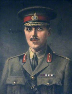 Brigadier General R. B. Bradford (1892–1917), VC, MC, Durham Light Infantry