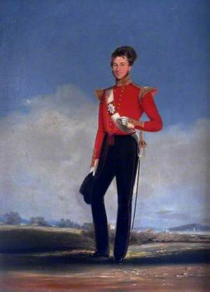 H. E. I. Coy's 2nd Bombay European Light Infantry Officer