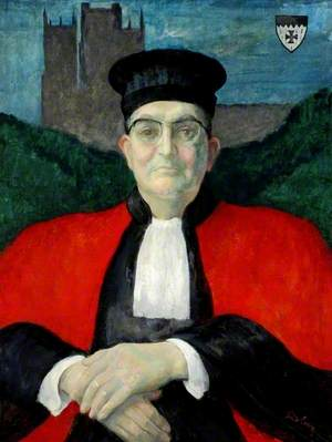 Professor William Bayne Fisher (1916–1984), Principal of the Graduate Society