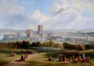 Durham from Observatory Hill