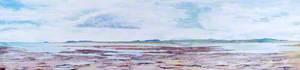 Bamburgh from Lindisfarne, Northumberland