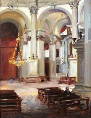 Interior – Santa Maria della Salute, Venice