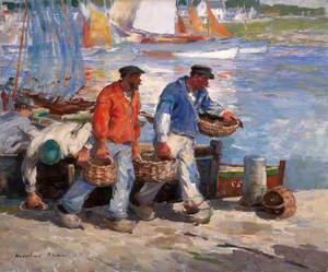 Sardine Fishers, Concarneau, France