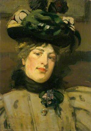 Portrait of a Lady (The Green Hat)