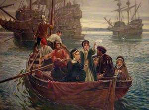 Queen Mary's First Farewell to Scotland, 1548