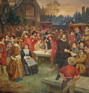 The Signing of the National Covenant in Greyfriars Churchyard, 1638