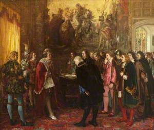 The Granting of a Royal Charter by King James III to the Provost, Bailies and Councillors of the Burgh of Edinburgh in the Year 1482