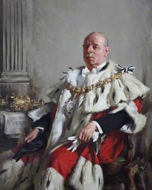 Sir Louis Stewart Gumley (1872–1941), LLD, Lord Provost of Edinburgh (1935–1938)