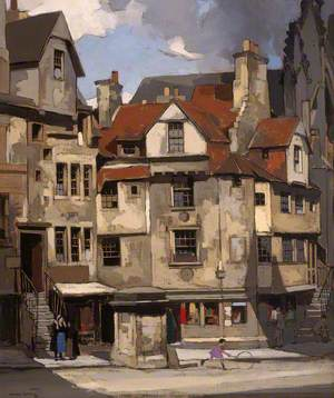 John Knox's House, High Street, Edinburgh