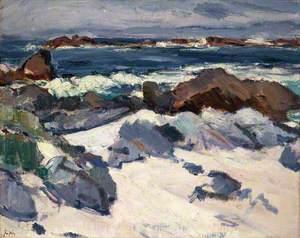 A Rocky Shore, Iona