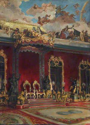The Throne Room, Royal Palace, Madrid