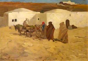 A Scene in Tunis