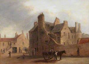 Nine Views of the Old Town of Edinburgh: Main Point, West Port