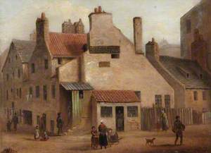 Nine Views of the Old Town of Edinburgh: Foot of Leith Wynd