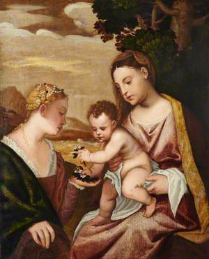 Virgin and Child with Saint Catherine
