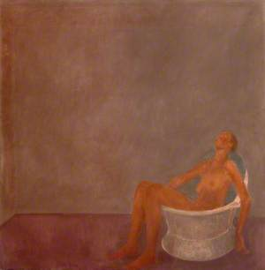 Woman in Tin Bath
