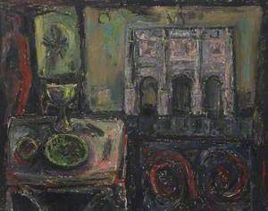 Still Life with Triumphal Arch