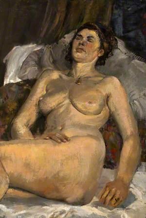 Sleeping Female Nude