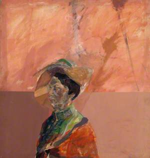 Portrait of Woman with Hat