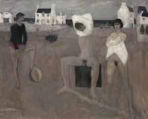 Bathers beside the Sea