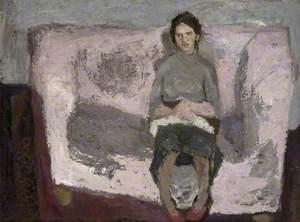 Artist's Wife on a Sofa