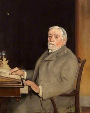 Portrait of a Man at a Writing Bureau