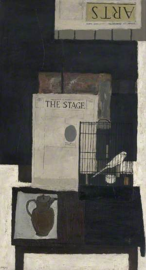 Still Life with Bird and Cage
