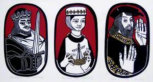 Alexander III, Margaret, Maid of Norway & Robert the Bruce