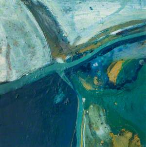 Winter Aerial Abstraction