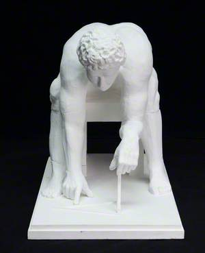 Isaac Newton: A Maquette Based on William Blake's 1795 Monotype Image