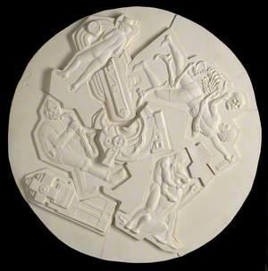 Sculpted Decorative Disk