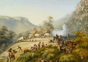The 74th above Waterkloof, 1851