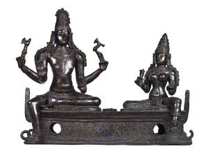 Processional Group of Shiva and Parvati*