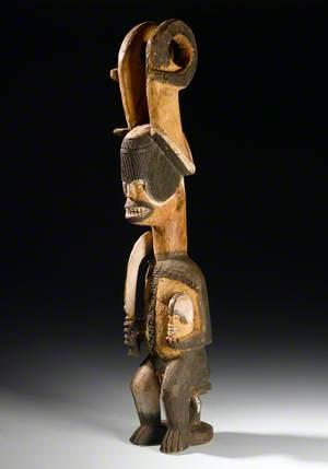 Ikenga with Sword and Victim's Head*