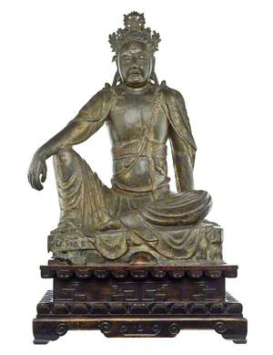 Guanyin on Throne*