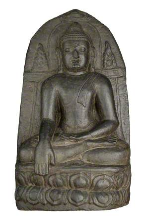 Buddha, Seated in 'Earth Witness' Gesture*