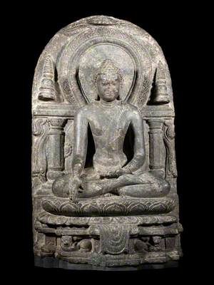 Enshrined Buddha*